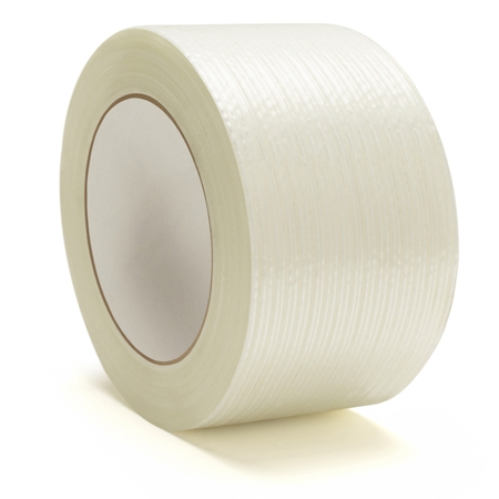 Heavy Duty Packing Tape, Filament Reinforced Tape Rolls, 4.0 Mil Thick, Clear, 2 Inch x 60 Yards, 12 Pack
