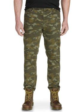 Men's Big & Tall True Nation Camo Taper-Fit Stretch Twill Pants
