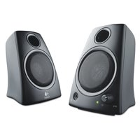 Logitech Z130 Compact 2.0 Stereo Speakers, 3.5mm Jack, Black
