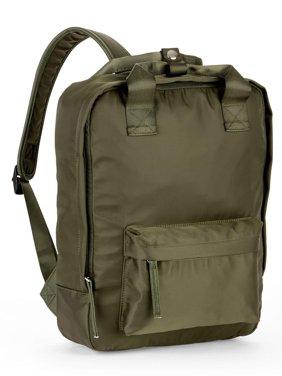 No Boundaries Square Nylon Backpack