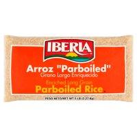 (2 Pack) Iberia Parboiled Long Grain Rice, 5 lb