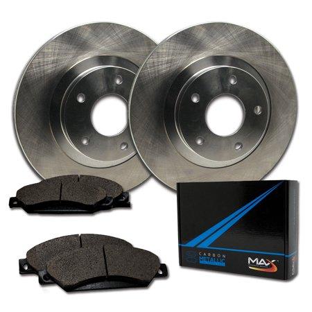 Max Brakes Front Premium Brake Kit [ OE Series Rotors + Metallic Pads ] TA115441 | Fits: 2013 13 Honda Civic LX Models w/Manual Transmission and HF Models - image 8 de 8
