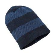 935394a9b70 Urban Pipeline Men Navy Striped Slouchy Beanie Knit Hat One Size YUP53CW08