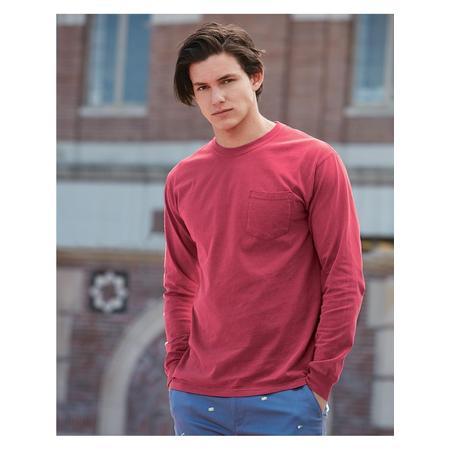 4410 Comfort Colors T-Shirts - Long Sleeve Garment Dyed Heavyweight Ringspun Long Sleeve Pocket