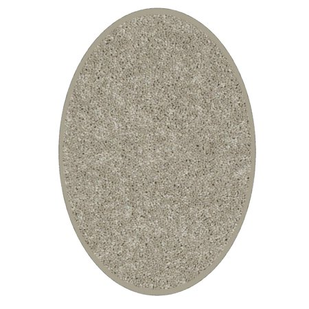 Color World Collection Way Pet Friendly Area Rugs Beige - 6'x8' Oval](Red Carpet Okc)