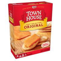 (2 Pack) Keebler Town House baked Crackers 13.8 Oz