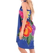 c2658767b473f Swimsuit Cover ups Sarong Bali For Beach Women Pareo Hawaiian Suit Wrap  Dresses