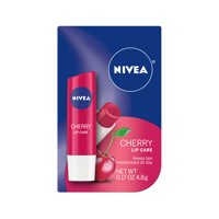 NIVEA Cherry Lip Care 0.17 oz. Carded Pack
