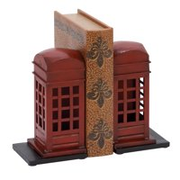 Library Metal Bookend Pair