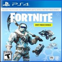 FORTNITE Deep Freeze Bundle, Warner, PlayStation 4, 883929662623