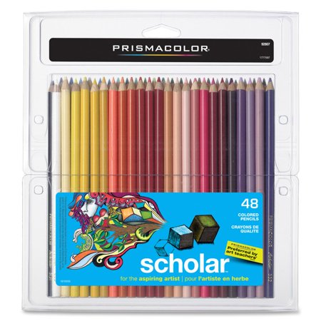 - Prismacolor Scholar Colored Pencil Set, 48-Colors