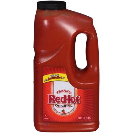 Red Hot Pickles (Frank's RedHot Original Hot Wing Sauce, 64 oz, Large Size)