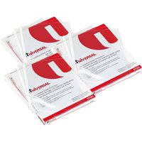 (3 Pack) Universal Top-Load Poly Sheet Protectors, Standard Gauge, Letter, Clear, 50/Pack
