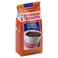 (2 Pack) Dunkin' Donuts French Vanilla Ground Coffee, 12 oz