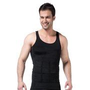 a8cead56359c7 Mens Slimming Body Shaper Vest Abdomen Slim Shirt Compression Tank  Shaperwear