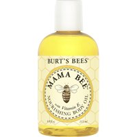 Burt's Bees 100% Natural Mama Bee Nourishing Body Oil, 4 oz Bottle