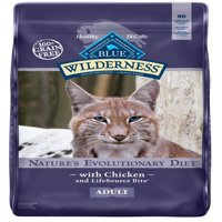 Blue Buffalo Wilderness High Protein Grain Free, Natural Adult Indoor Dry Cat Food, Chicken Recipe