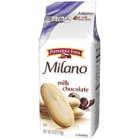 Pepperidge Farm Milano Milk Chocolate Cookies 6 Oz Bag
