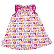 cf8ea71f9 Zutano Keyhole Collar Dress -Ellas Elephants, 12 Months