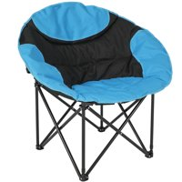 Best Choice Products Outdoor Foldable Lightweight Camping Sports Chair w/ Large Pocket, Carrying Bag