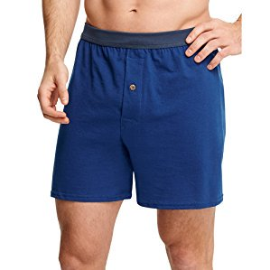 Mens TAGLESS ComfortSoft Knit Boxers with ComfortSoft Waistband 2X 5-Pack