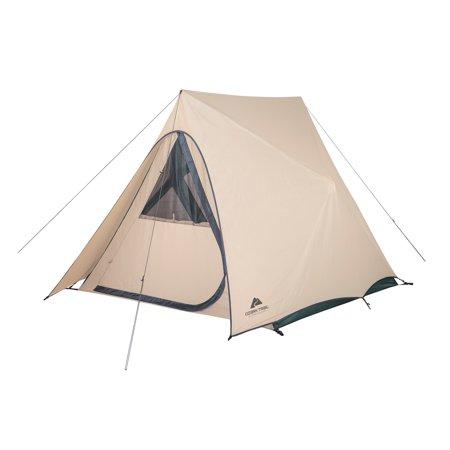 Ozark Trail 3 Person Pop Out A Frame Camping Tent Walmart Com