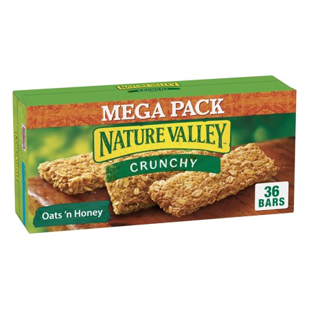 Nature Valley Granola Bar, Crunchy Granola Bar, Oats 'N Honey 36 -