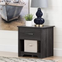 South Shore Fusion 1-Drawer Nightstand, Multiple Finishes