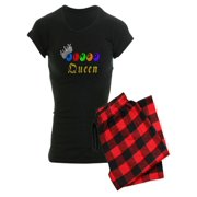 CafePress - Bingo Queen Balls - Women's Dark Pajamas