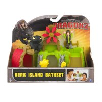 DreamWorks How to Train Your Dragon 2 Berk island Bath Set, 1.0 CT
