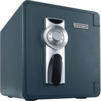 First Alert 2087F-BD Waterproof and Fire-Resistant Bolt-Down Combination Safe, 0.94 Cubic Feet