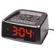 AcuRite Big and Loud Electric IntelliTime Alarm Clock