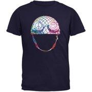 Warrior of Peace Helmet Navy Youth T-Shirt