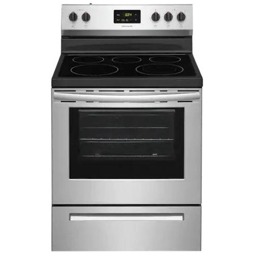 Frigidaire FCRE3052AS, Glass Cooktop