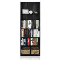 Furinno JAYA Simply Home 5-Shelf Bookcase