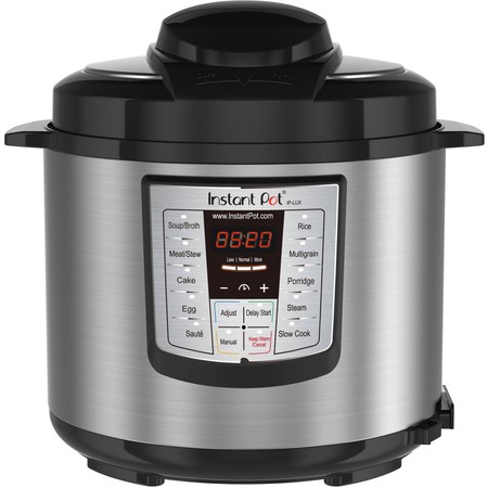 Superfast Pressure Cooker (Instant Pot LUX60 6 Qt 6-in-1 Multi-Use Programmable Pressure Cooker, Slow Cooker, Rice Cooker, Saute, Steamer, and Warmer )