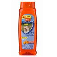 Hartz UltraGuard Citrus Flea & Tick Dog Shampoo, 18 Fl Oz