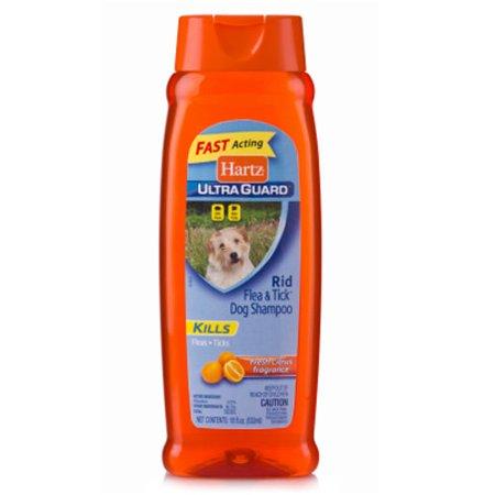 Hartz UltraGuard Citrus Flea & Tick Dog Shampoo, 18 Fl -