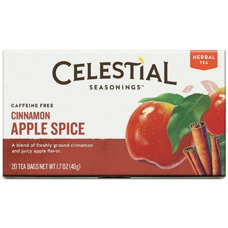 Celestial Seasonings Herbal Tea, Cinnamon Apple Spice, 20
