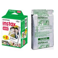 Fujifilm Instax Mini Instant Film 30 Prints for Fuji 90, 9, 8, 7S, 50S 25 Camera, EXP 08/2020
