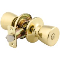 Mountain Security Keyed Entry Tulip, Polished Brass
