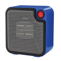 Mainstays Mini Ceramic Heater DQ1723-B Blue