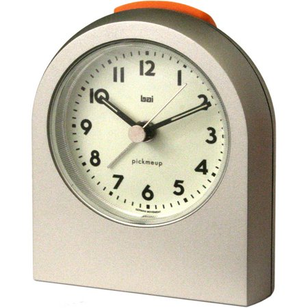 Bai Pick-Me-Up Alarm Clock, Titanium