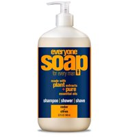 Everyone™ 3-in-1 Soap for Men, Cedar and Citrus, 32 Oz.
