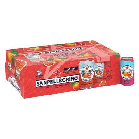 Sanpellegrino Blood Orange Sparkling Fruit Beverage, 11.15 fl oz. Cans (24 (Beverage Non Dairy Grocery)