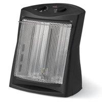 Mainstays Radiant Quartz Space Heater, Black, DF1511-AB