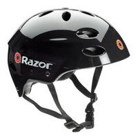 Razor V17 Youth, Multi-Sport Helmet, Glossy Black, For Ages 8-14