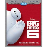 Big Hero 6 (Collector's Edition) (Blu-ray + DVD + Digital HD)