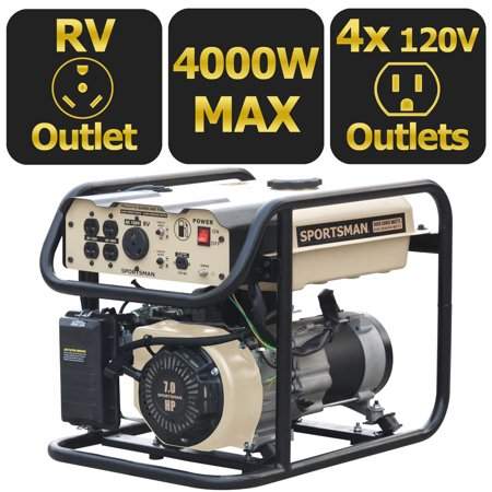 Sportsman Sandstorm Gasoline 4000 Watt Portable