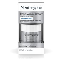 Neutrogena Rapid Wrinkle Repair Hyaluronic Acid & Retinol Face Cream, 1.7 oz